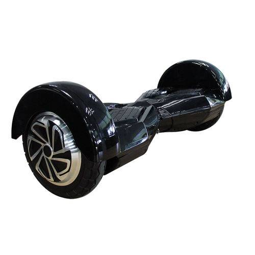 Hoverboard Smart Balance Scooter 8'' Mymax Bateria Samsung Bluetooth Bivolt - Preto