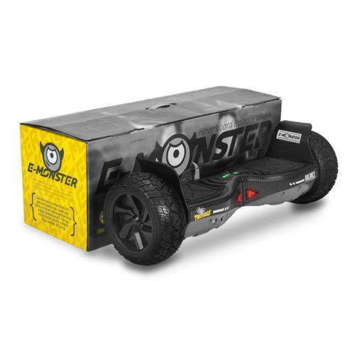 Hoverboard Two Dogs E-monster Cinza Carbono