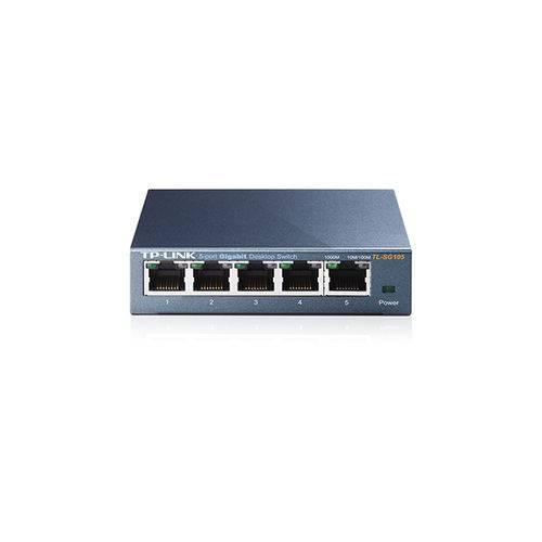 Hub-switch Tp-link 05p Tl-sg105 10-100