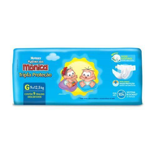Huggies Tripla Proteção Fralda Infantil G C/9