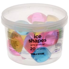 Ice-shapes Cubo Gelo Artificial C/20 Multicor