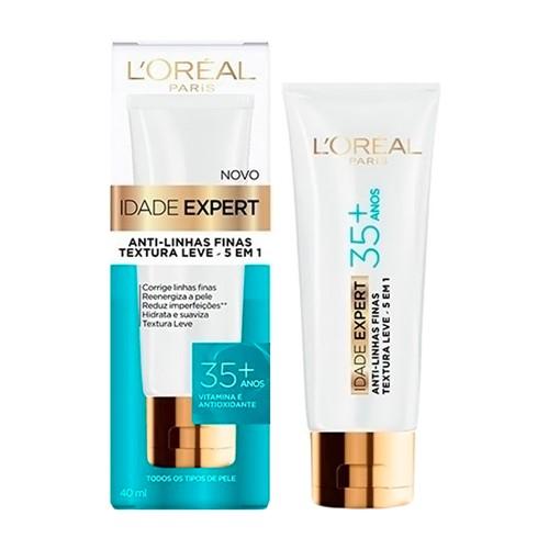 Idade Expert 35+ L'oréal Anti-Linhas Finas 5 em 1 com 40ml