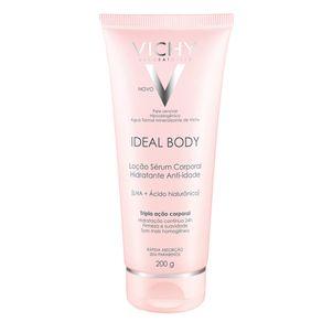 Ideal Body Loção Serum Vichy - Hidratante Corporal 200g