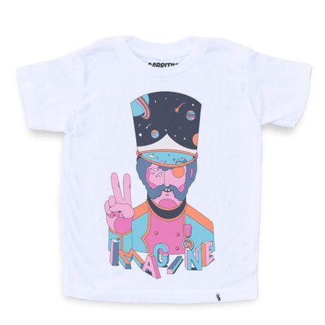 Imagine - Camiseta Clássica Infantil