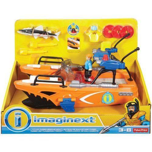 Imaginext Barco de Resgate Mattel