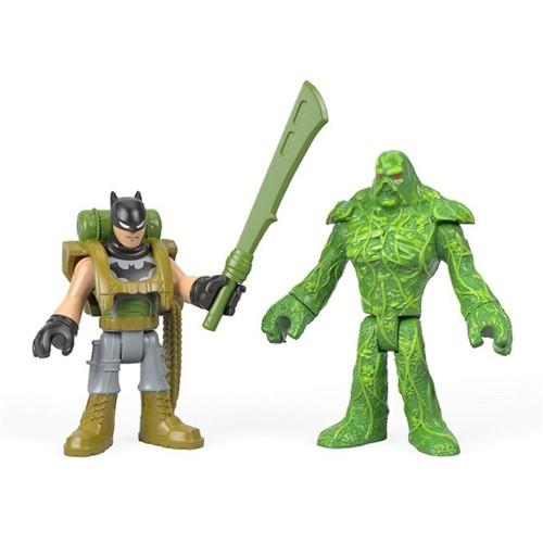 Imaginext - Batman Figuras - Batman e o Monstro do Pântano Fgv86 - MATTEL
