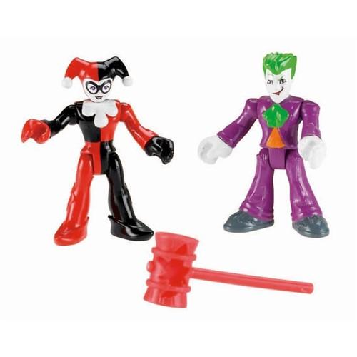 Imaginext - Batman Figuras - Coringa e Arlequina X7649 - MATTEL