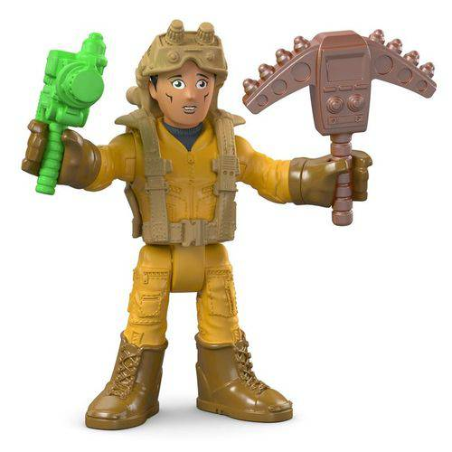 Imaginext Boneco Básico Explorador com Armas - Mattel