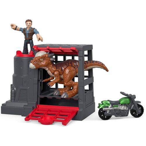 Imaginext - Jurassic World - Captura do Dinossauro Veloz Fmx90