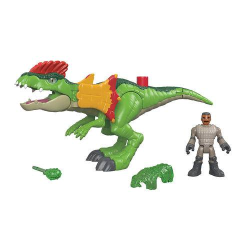 Imaginext Jurassic World Dilophosaurus - Mattel