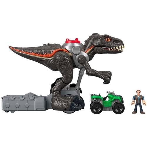 Imaginext - Jurassic World - Dinossauro Grande Motorizado - Indoraptor Fmx86 - IMAGINEXT