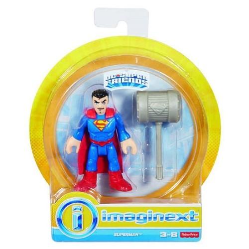 Imaginext - Liga da Justiça - Boneco Super Homem Dry30 - IMAGINEXT