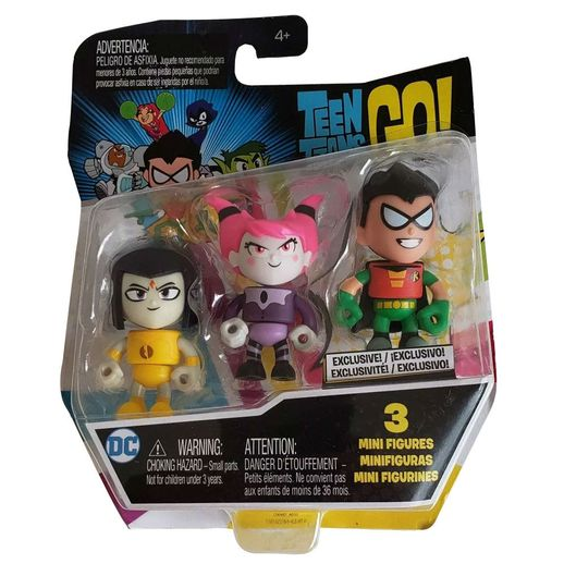 Imaginext Mini Figuras Teen Titans Go! - Mattel