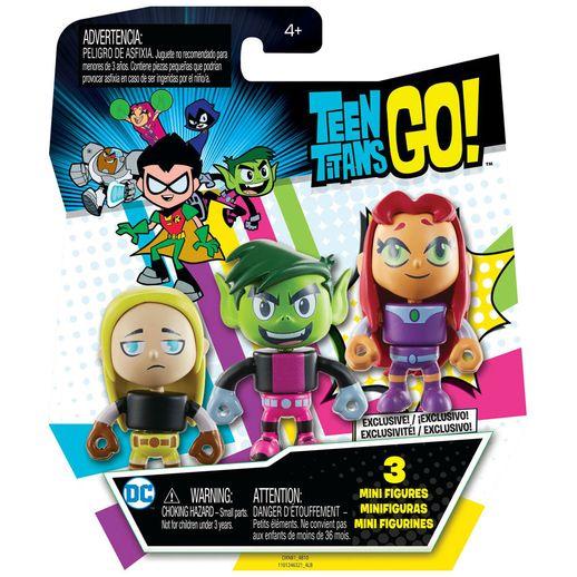 Imaginext Mini Figuras Teen Titans Go! Mutano - Mattel