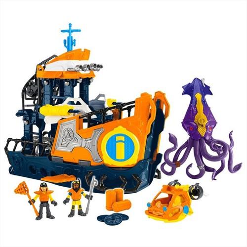 Imaginext - Navio Comando do Mar - IMAGINEXT