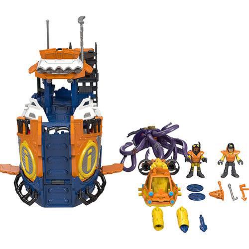 Imaginext Navio Comando do Mar - Mattel