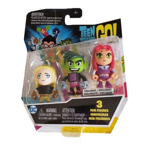 Imaginext Teen Titans Go! Mini Figuras - Modelo 1 - Mattel