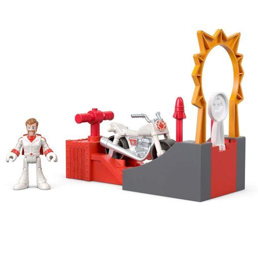 Imaginext Toy Story 4 Duke Caboom: Manobra de Ação - Mattel