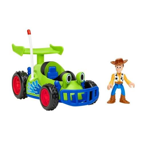 Imaginext - Toy Story - Boneco Woody & Rc Gfr99 - MATTEL
