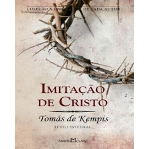 Imitacao de Cristo - Martin Claret