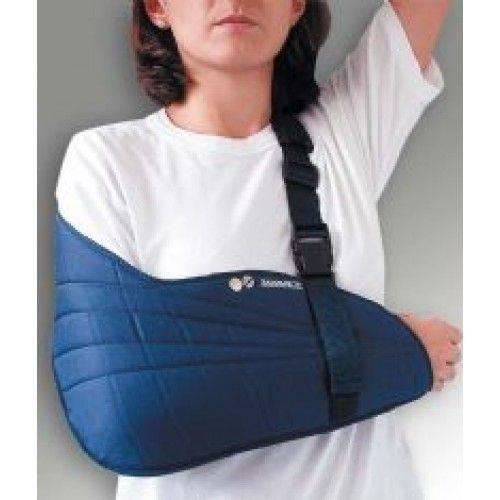 Imobilizador Estofado de Ms - Bilateral - Tam Infantil - Azul - (tipóia Velpeau) - Salvapé - Cód: 301-01