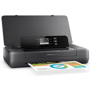 Impressora Jato de Tinta Color HP CZ993A#AC4 OJ 200 Portátil 22PPM WIFI Direct com Bateria