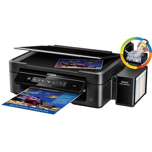 Impressora Multifuncional Epson EcoTank L365 Tanque de Tinta Wi-Fi