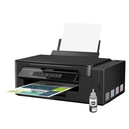 Impressora Multifuncional Epson Ecotank L396 Wireless com Refil Preto T664120