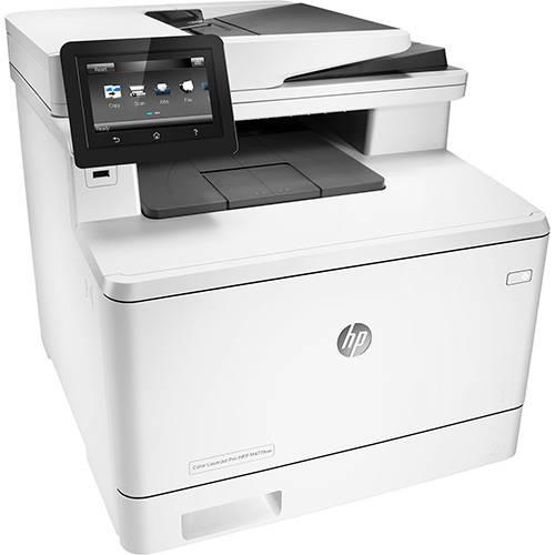 Impressora Multifuncional HP Color Laserjet Pro M477fnw Laser Color