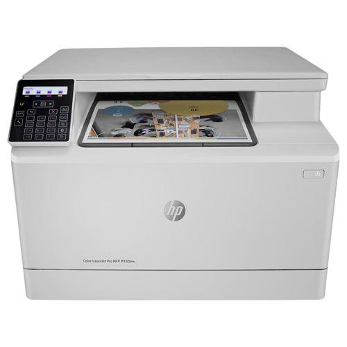 Impressora Multifuncional HP Pro M180NW Laser Jet Colorida 110V