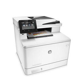Impressora Multifuncional Laserjet Color HP CF377A#AC4 M477FNW 28PPMM Duplex