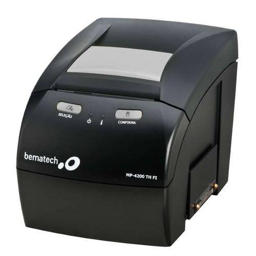 Impressora não Fiscal Bematech MP-4200 Th Fi 2 C/guilh.