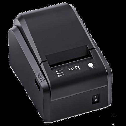 Impressora Térmica Não-Fiscal Elgin, USB, com Serrilha - I7