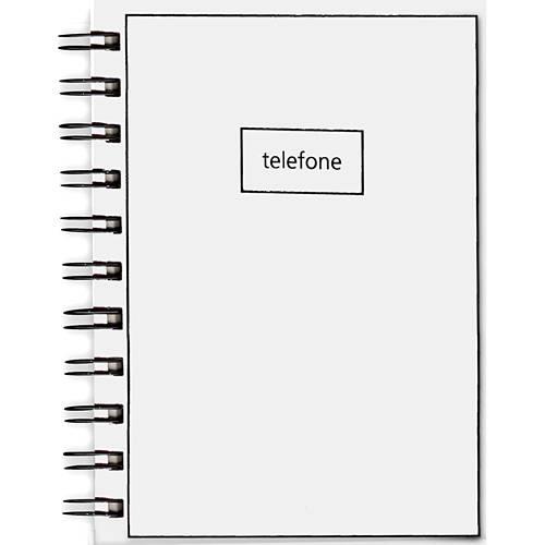 Índice Telefônico P Linha Básica - Branco - Teca
