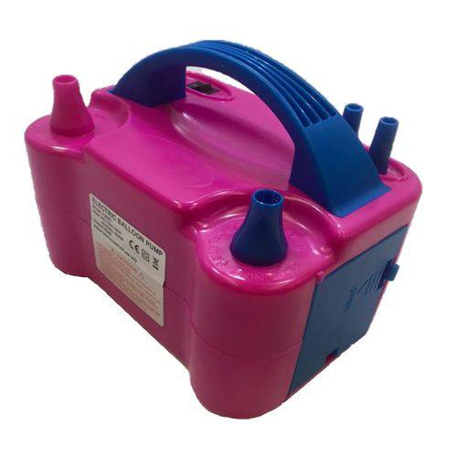 Inflador Compressor Bomba para Balão Bexiga 2 Bicos 110 Volts