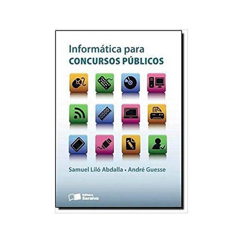Informática para Concursos Públicos 1ªed. - Saraiva