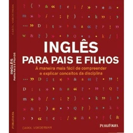 Ingles para Pais e Filhos - Publifolha