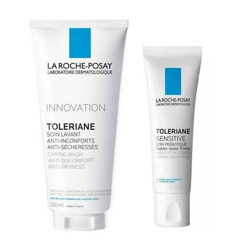 Innovation Tolarine Caring Wash 200ml + Toleriane Creme Facial 40ml