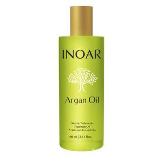Inoar Óleo de Tratamento Argan Oil - Tratamento Disciplinador 60ml
