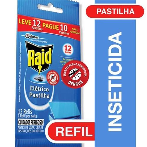 Inseticida Eletrico Raid Refil Protect Leve12 Pague10