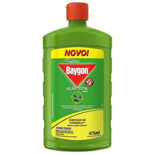 Inseticida Liquido Baygon 475ml Acao Tot Base Agua