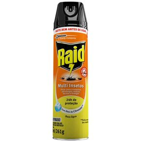 Inseticida Multi Insetos com Citronela Raid 285ml