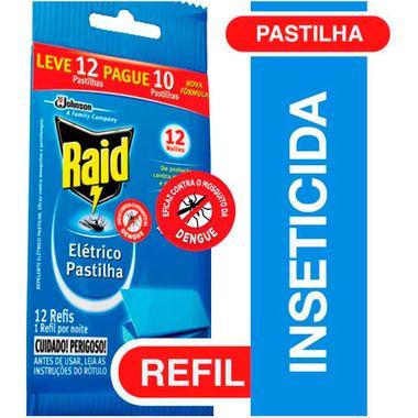 Inseticida Raid Pastilha 12 Horas Leve 12 Pague 10