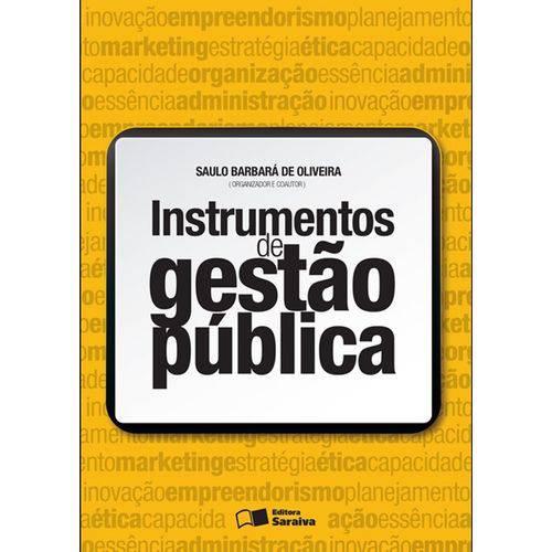 Instrumentos de Gestão Pública - 1ª Ed.