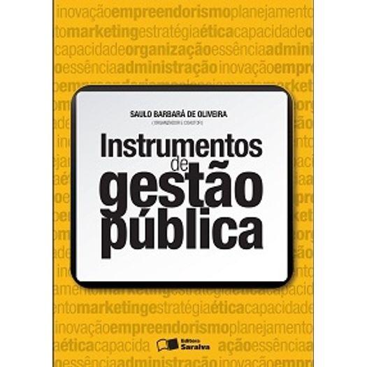 Instrumentos de Gestao Publica - Saraiva