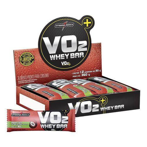Integralmedica Display Vo2 Slim 12 Unid 30g Côco e Chocolate