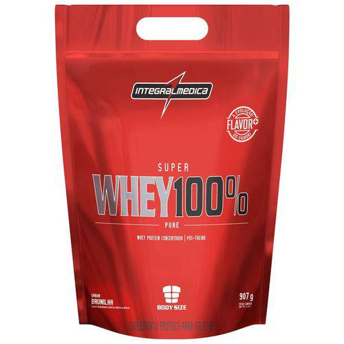 Integralmedica Super Whey Baunilha 100% Rf 907g