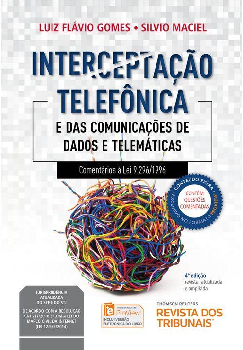 Interceptação Telefônica - 4ª Edição