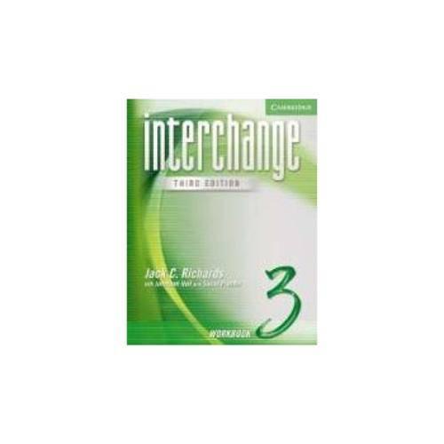 Interchange 3: Workbook