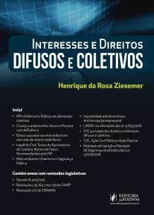 Interesses e Direitos Difusos e Coletivos (2018)